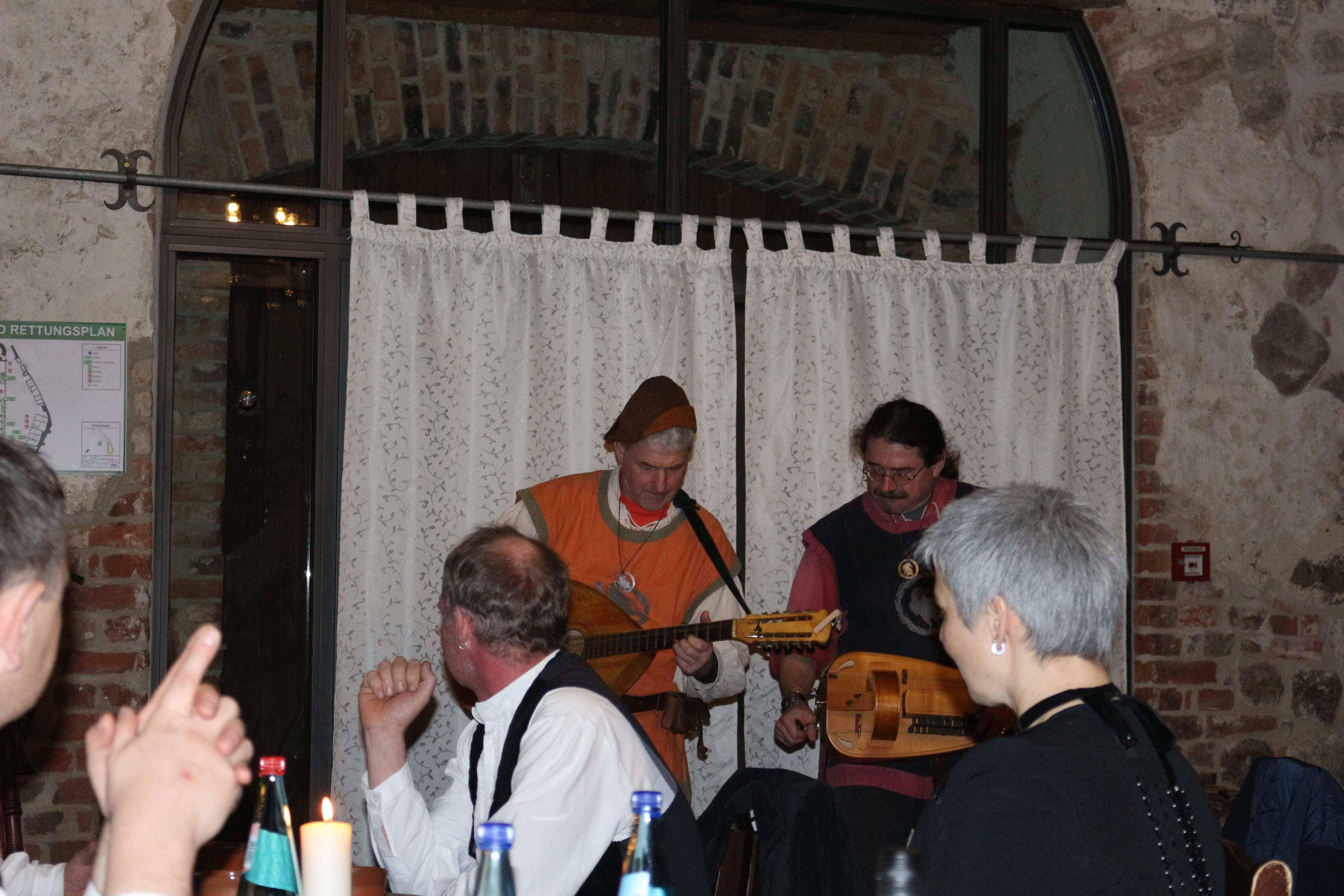Mittelalterliche Klänge als Zwischengang